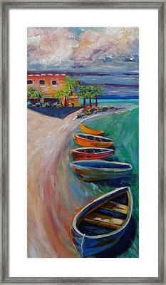 Resort Time Framed Print