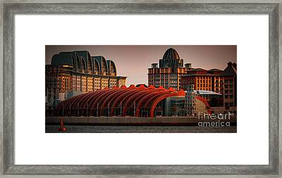 Framed Print featuring the photograph Resort World Sentosa by Ray Shiu