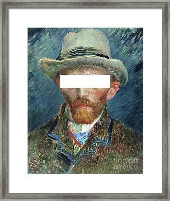 Respect My Privacy  Framed Print