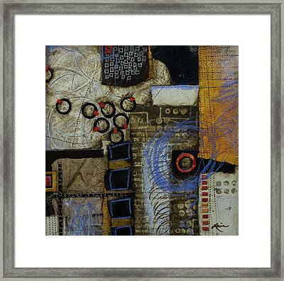 Respond To Patterns Framed Print