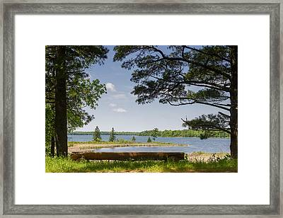 Rest Awhile Framed Print