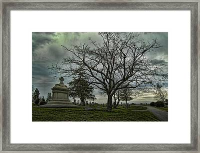 Rest In Peace Framed Print by Nick Roberts