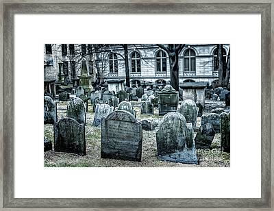Rest In Peace Framed Print by Tamyra Ayles