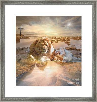 Divine Rest Framed Print