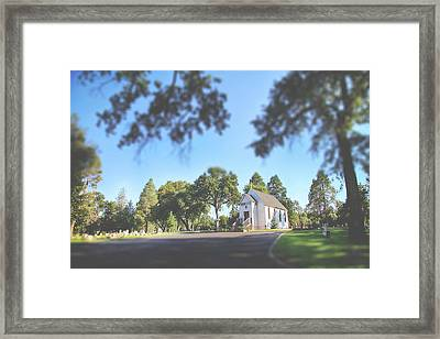Rest Now Your Weary Souls Framed Print