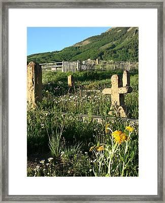 Rest Framed Print by Peter  McIntosh