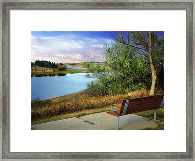 Rest Stop 2 Framed Print