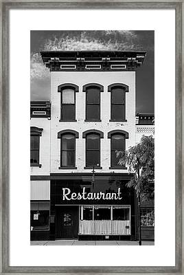 Restaurant Framed Print by Al White