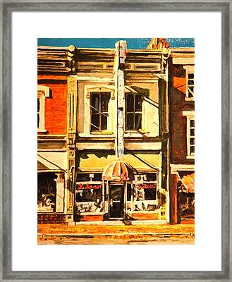 Restaurant II Framed Print by Thomas Akers