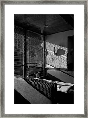 Restaurant Late Afternoon Framed Print by Robert Ullmann