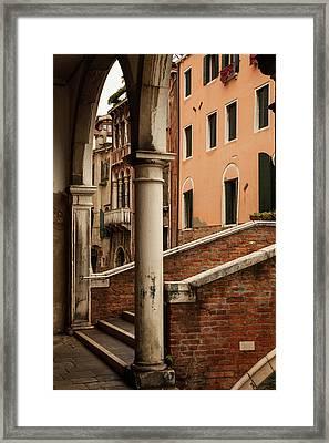Restaurato Framed Print by Art Ferrier