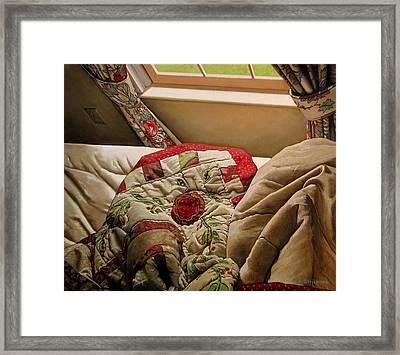 Rested Framed Print by Doug Strickland