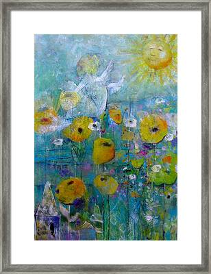 Resting Assured Framed Print