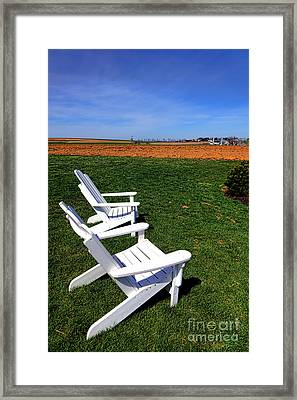 Resting Away Framed Print by Olivier Le Queinec