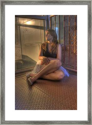 Resting Dancer Framed Print by JoeMyDodd JMD