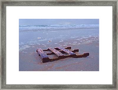Resting For Now Framed Print
