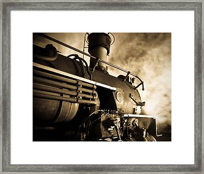 Resting Overnight Framed Print