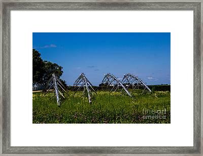 Resting Rain Makers Framed Print