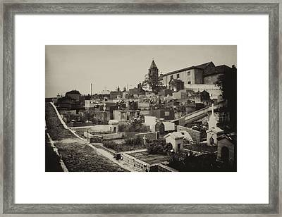 Framed Print featuring the photograph Resting Street by Amarildo Correa