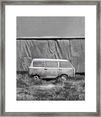 Resting Van 2 Framed Print
