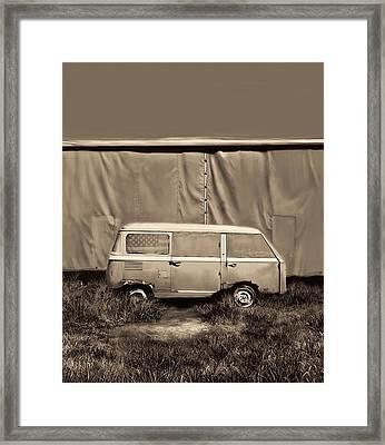 Resting Van 3 Framed Print