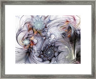Restive Framed Print by Casey Kotas
