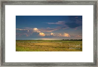 Restless Land Framed Print by Marvin Spates