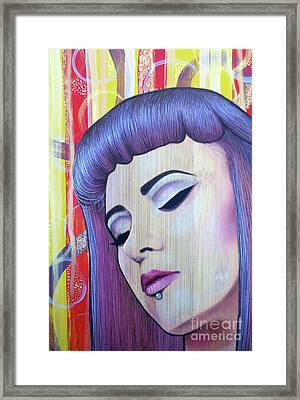 Restless Mind - Beautiful Spirit Framed Print