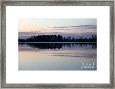 Restless Mourning Framed Print by Amanda Barcon
