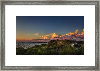Restless Sky Framed Print