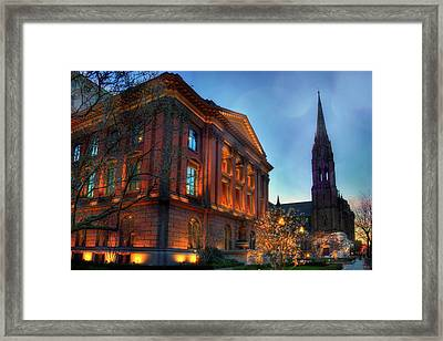 Restoration Hardware - Back Bay - Boston Framed Print by Joann Vitali