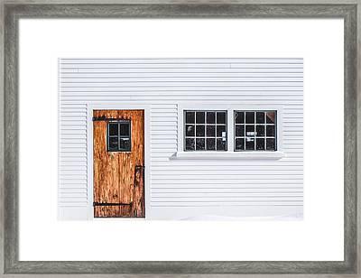Restoration Framed Print