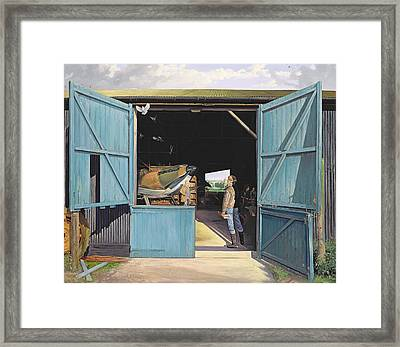 Restoration Framed Print by Timothy Easton