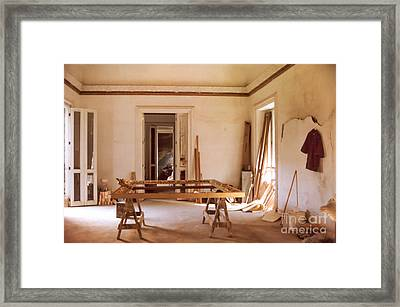 Framed Print featuring the photograph The Restoration Studio 2 by Susan Parish