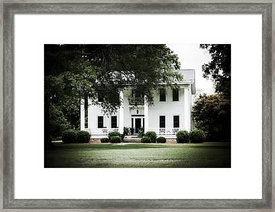 Restored Splendor Framed Print by Alicia Collins