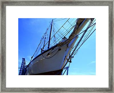 Framed Print featuring the photograph Restoring Harvey by Lois Lepisto