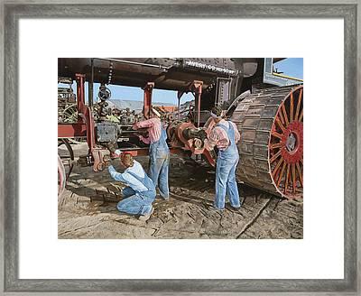 Restoring The Avery Framed Print