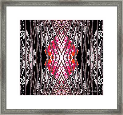 Restrained Framed Print by Expressionistart studio Priscilla Batzell