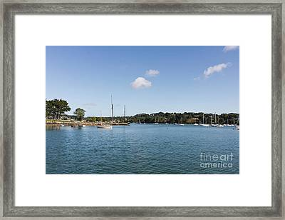 Restronguet Creek From The Pandora Inn Framed Print by Terri Waters