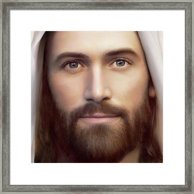 Resurrection And The Life Detail Framed Print