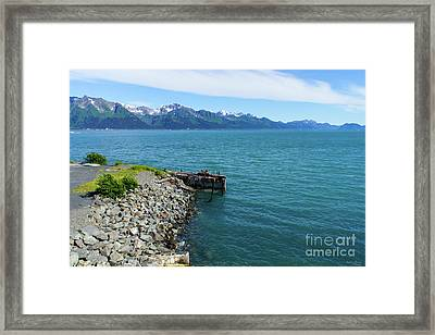 Resurrection Bay Framed Print