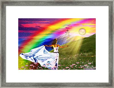 Resurrection  Framed Print by Dolores Develde