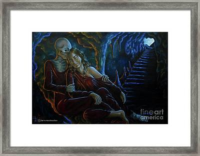 Resurrection Life And Death Framed Print by Yonan Fayez