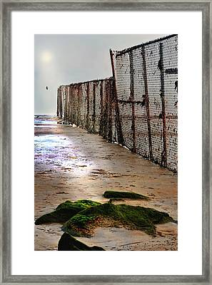 Retaining Wall Framed Print