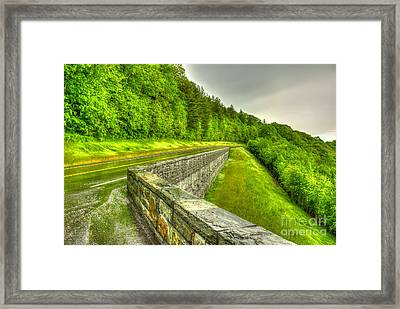 Retention The Great Smoky Mountains Framed Print by Reid Callaway