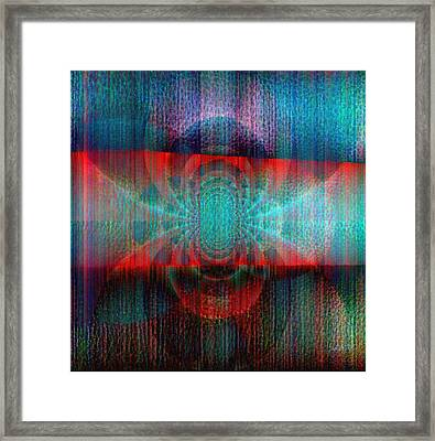Rethink Colors And Creation Framed Print by Fania Simon