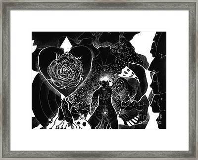 Rethinking The First Step Framed Print by Helena Tiainen