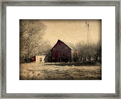 Retired 2 Framed Print by Julie Hamilton