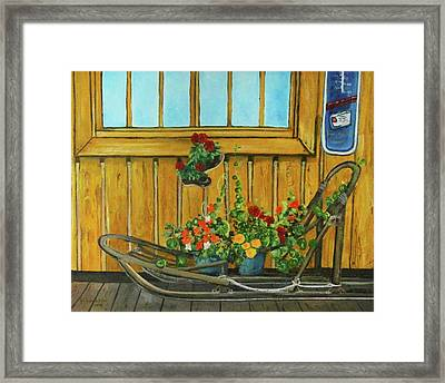 Retired Framed Print by Amy Reisland-Speer