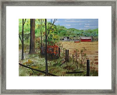 Retired And Forgotten Framed Print by Jack G  Brauer